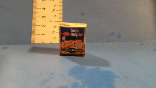 Barbie Doll 1:6 Kitchen Food Miniature Box of Tuna Helper Creamy Broccoli