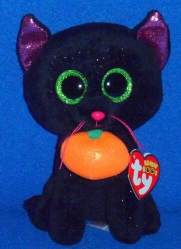 "TY BEANIE BOOS POTION the 6/"" HALLOWEEN CAT MINT with MINT TAG"