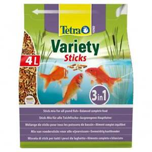 TETRA-Variety-Sticks-4L-POND-Fish-Food-FOR-all-pond-fish-koi-carp-FRESH