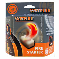 Ultimate Survival Technologies Wetfire Tinder 12-pack All-weather Fire Starter