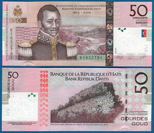 Haiti 50 Gourdes 2008 Unc P.274 B Münzen Karibik