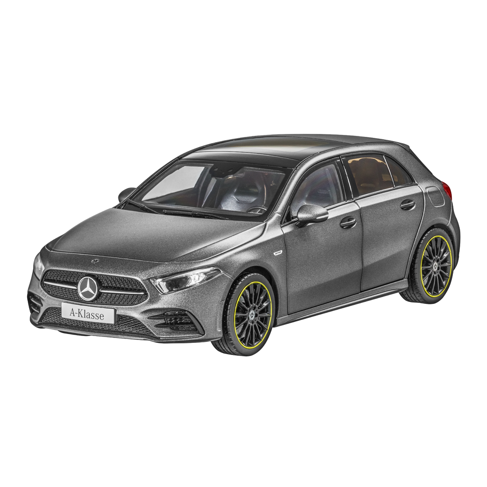 Mercedes - benz w 177 bis 2018 eine klasse amg - linie 18 neu ovp mountain grau