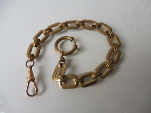 Beautiful-old-Watch-Chain-Chain-Double-22-5cm