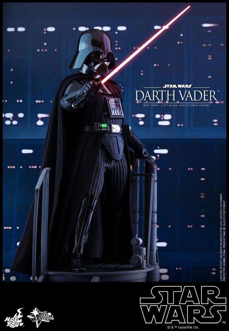 varmleksaker HT 1  6 MMS452 stjärnornas krig Episod IV En ny Hope Dkonsth Vader 4.0 Figur NY