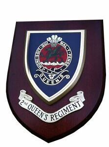 2nd-Queens-Regiment-Military-Shield-Wall-Plaque