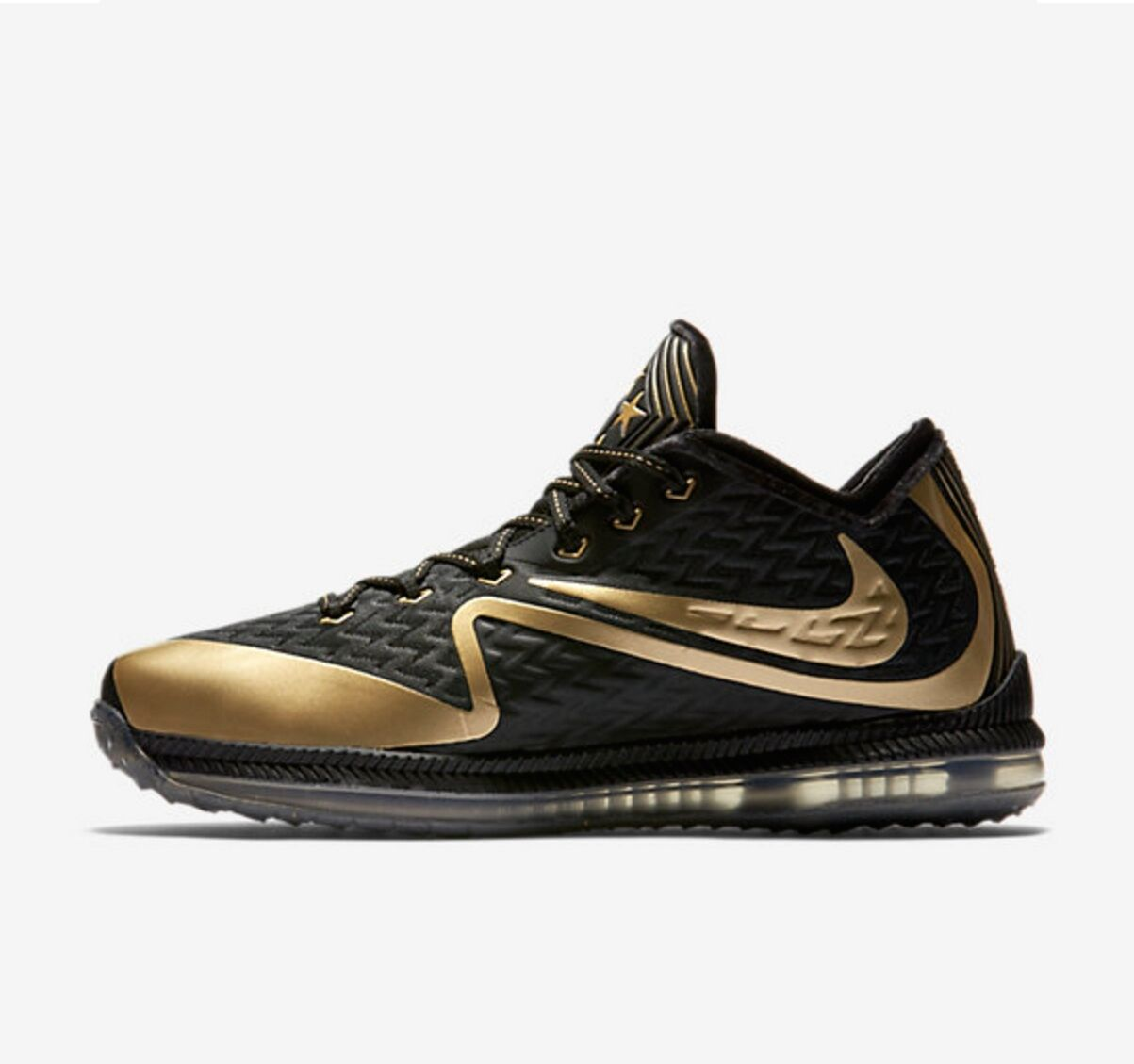 Gli Uomini Sono Nike Campo Generale 2 (Nfl) Sb50 Nero Oro Metallico Sz 15 Nuovi 824471 070