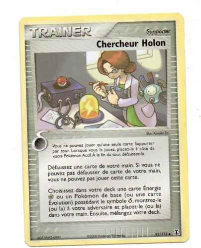 Chercheur Holon 1455 Pokémon Trainer n° 95//113