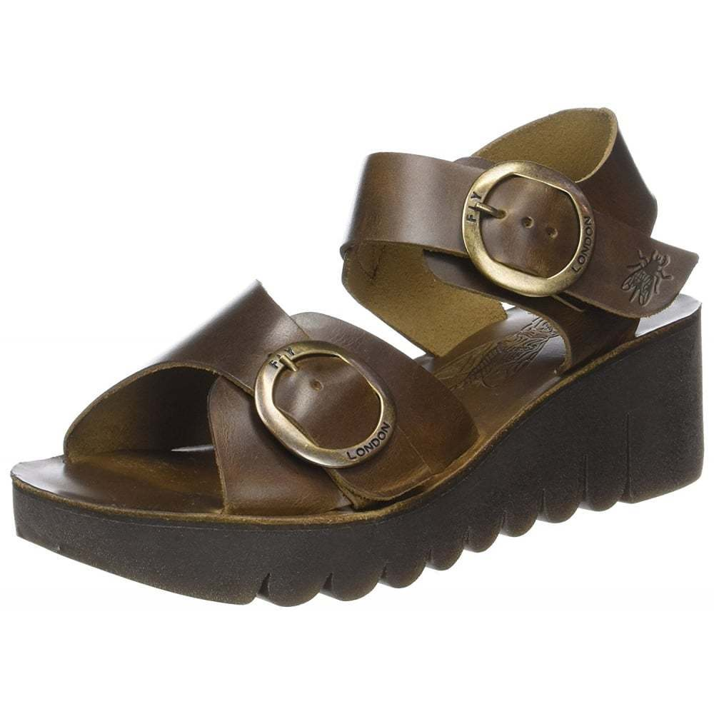 donna Fly London Yech189  Leather Open Toe Sandals Assorted Colorees Dimensione  consegna rapida