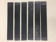 AAA Ebenholz Griffbrett | Ebony Fingerboards | Tonholz | Tonewood | Drechselholz