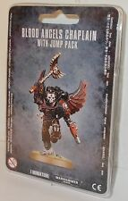 Warhammer 40,000 - 41-17 - Blood Angels Chaplain w/Jump Pack - New (Wargaming)