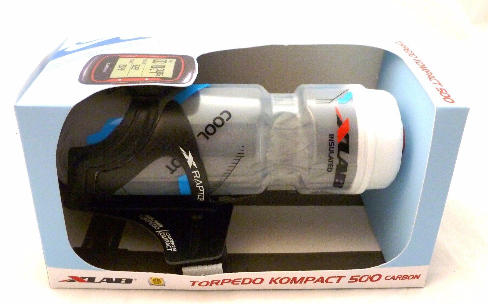 X-Lab Torpedo Kompact 500  Carbon with Computer Mount xlab  trendy