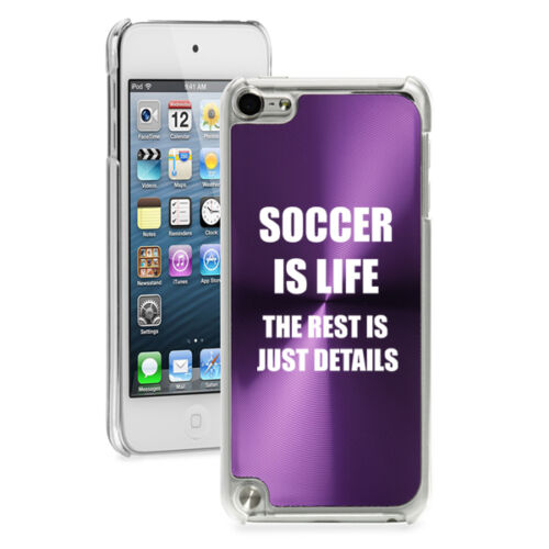 For Apple iPod Touch 4th 5th 6th Hard Case Cover Soccer Is Life