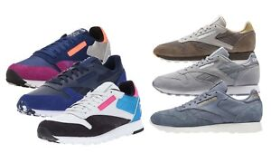 Reebok-Men-039-s-NEW-CL-Classic-Leather-Retro-Casual-Comfort-Sneakers-Shoes