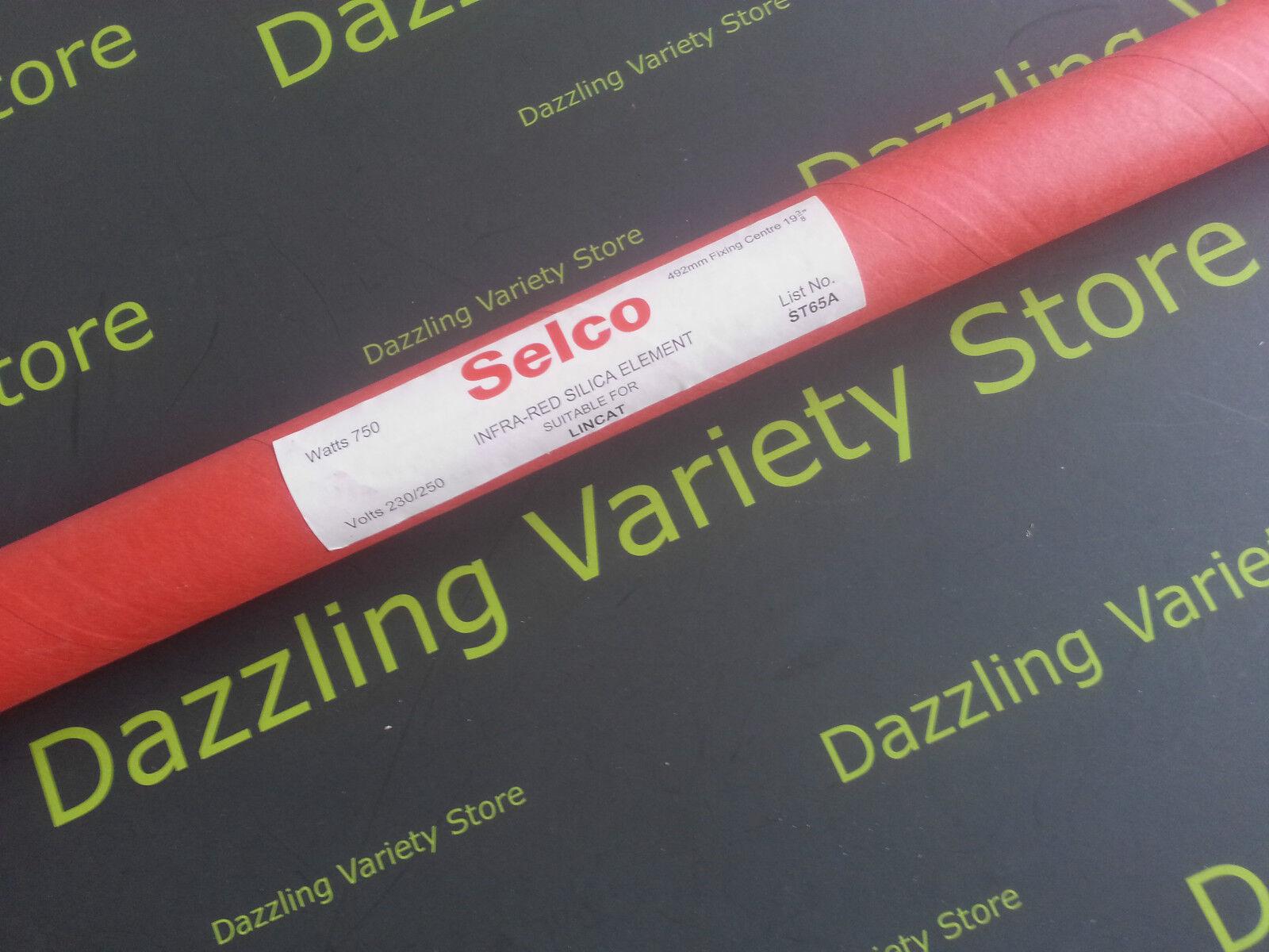 Selco Silica Glass Tube Element ST4B