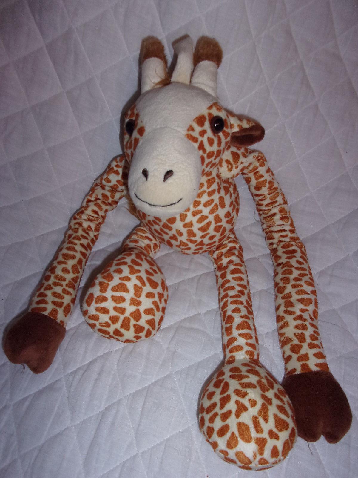Tug a Lug Giraffe Adjustable Arms Legs 22  Plush Soft Toy Stuffed Animal