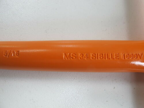 Sibille Fameca MS34 Electric Insulated 5//16 T-handled hexagonal box spanner1000V