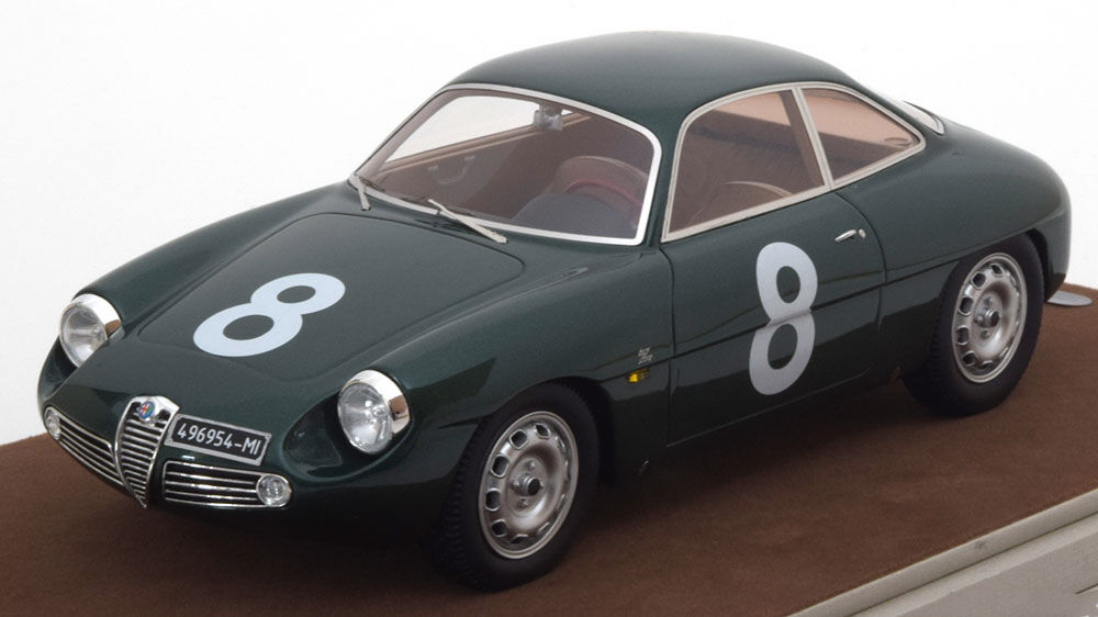 Tecnomodel Alfa Romeo Giulietta SZ Targa Florio 1961 Priolo Manfredini Manfredini Manfredini  18 2b3d4e