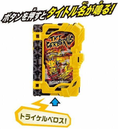 BANDAI Kamen Rider Saber DX TRI CERBERUS Wonder Ride Book JAPAN