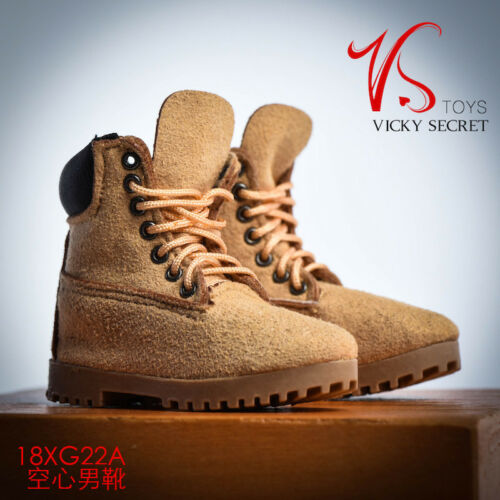 """1//6 VSTOYS  Male Hiking Working Boots Hollow Shoes Fit 12/"""" Action Figure 18XG022"""