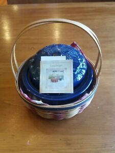 Longaberger-2002-All-American-Collection-Casserole-Basket-Full-Combo