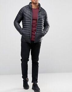Para-hombres-Nike-Chaqueta-de-Plumon-Relleno-ligero-calidez-Empacable-943369-021-Gris-S-M-L