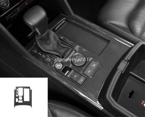 Carbon Fiber Indoor Gear Shift Frame Cover Trim For VW Teramont Atlas 2017-2019