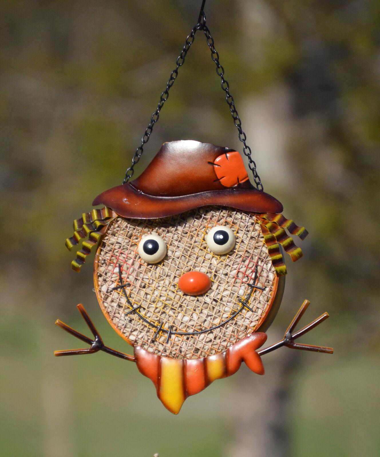 Gift Essentials Scarecrow Mesh Decorative Bird Feeder