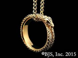 24k-Gold-Plated-Great-Serpent-Ring-Necklace-Wheel-of-Time-Jewelry-Ouroboros