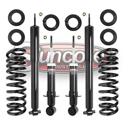 Rear Air to Coil Spring Suspension Conversion Kit for 2003-2011 Lincoln Town Car