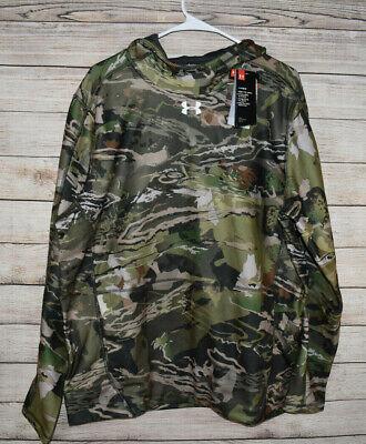 Under Armour UA Men/'s OffGrid Fleece Camo Popover Sweatshirt 1319826-940