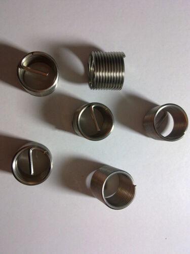 10pcs-100pcs Stainless Steel Helicoil Thread Insert 6#-32 x2.5 Diameter #Z320 ZY
