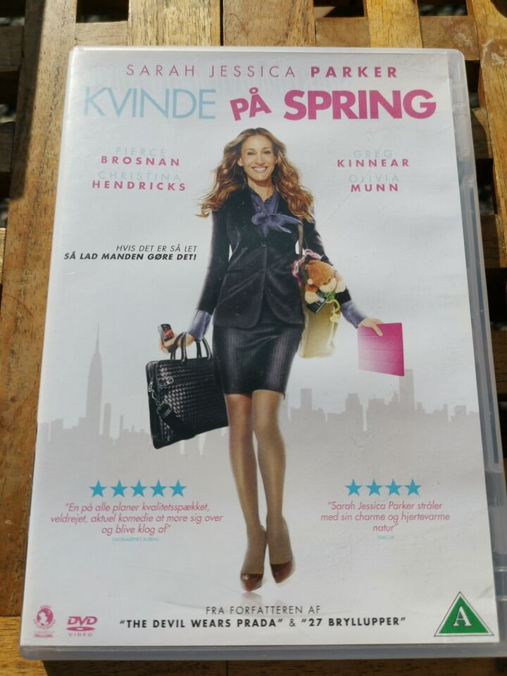 Kvinde på spring, DVD, komedie