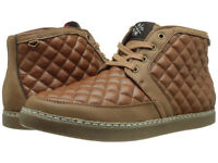 Stacy Adams Mens Tiptop Quilted Chukka Boot Cognac 53418-221 Many Sizes