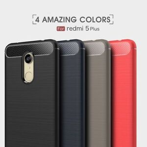 online retailer 3dd99 cd5fb Details about For Xiaomi Redmi 5 Plus Brushed Rugged Armor Hybrid TPU Full  Protect Cover Case