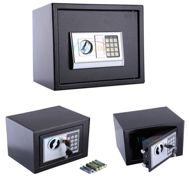 Digital Wandtresor Geldsafe Dokumententresor Safe Zahlenschloss mit Notschlüssel