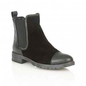 Boots 36 Jessalyn Black Eu Chelsea Ankle Lotus Ladies B8qTOO