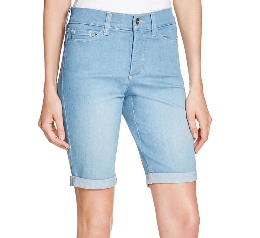 NYDJ Not Your Daughters Jeans Briella  bermuda shorts Palm Bay 4 6 8 10 12 14 16
