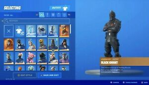 Fortnite Og Account Black Knight Reaper Read Description Raffle Ps4 Ebay