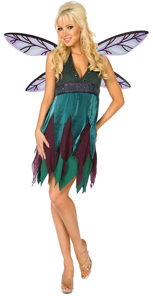 Karneval Klamotten Kostüm Elfe Dame Karneval Waldfee Damenkostüm     | Verrückter Preis