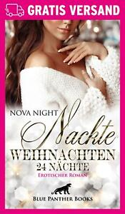 Nackte-Weihnachten-24-Naechte-Erotischer-Roman-von-Nova-Night-blue-panther