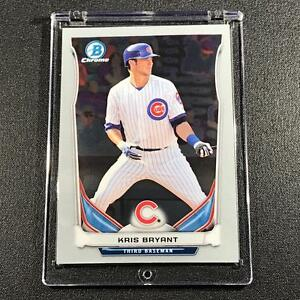 KRIS BRYANT 2014 BOWMAN CHROME TOP PROSPECTS #CTP-62 ROOKIE CARD RC CHICAGO CUBS