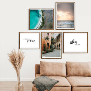 Gallery-Wall-Home-Prints-A4-Destination-Holiday-Travel-1-5-PICTURES-NO-FRAME