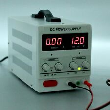 Variable Linear Adjustable Lab DC Bench Power Supply 0-30V 0-5A
