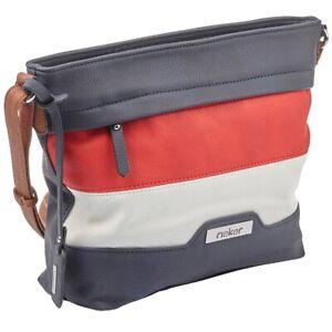 Rieker H1328-14 Umhängetasche Tasche Damen Handtasche Schultertasche pacific