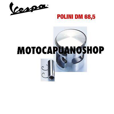 PISTONE DM 68,5 GRUPPO TERMICO  POLINI VESPA PX 200 IALLUMINIO DM.68,5