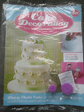 Deagostini Cake Decorating Magazine ISSUE 80 WITH DAISY EMBOSSER CUTTERS