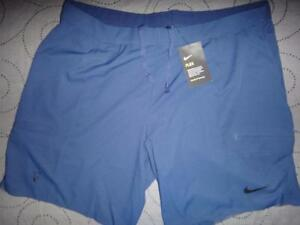2ec0bd23 NIKE TENNIS ROGER FEDERER FLEX DRI FIT SHORTS SIZE 2XL MEN NWT ...