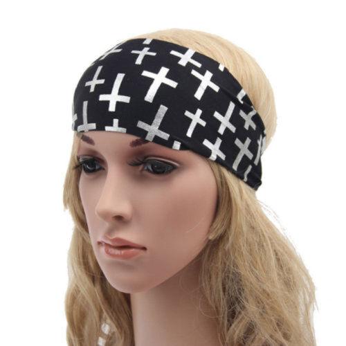 Boho Style Turban Headband Fashion Wrap Yoga//workout Head Wrap Headband Hairband