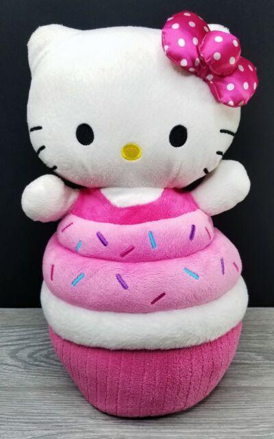 Large Hello Kitty Sprinkle Fun Cupcake Plush 15-8695