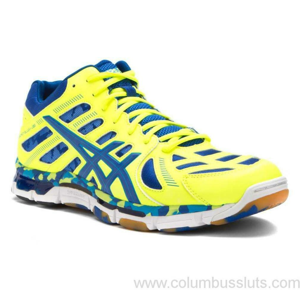 Asics Gel-vollycross Revolution Mt (B305Y-0459) Flash Jaune Royal